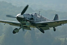 "Model Airplane Plans (UC): ME-109E 1/16 Scale 24-3/4"" for .10-.23 (Musciano)"