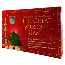 The Great Mosque Challenge Board Game Children Islamic Educational Toy Eid Gift