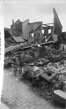 45 GIEN PHOTO GUERRE 39/45 RUINES SUITE BOMBARDEMENTS