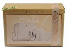Omnia Crystalline Perfume by Bvlgari 2.2 Oz Edt  4 Piece Gift Set for Women New