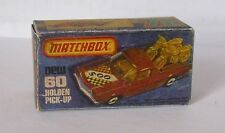 Repro Box Matchbox Superfast Nr.60 Holden Pick Up