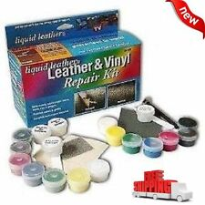 Leather Liquid And Vinyl Repair Kit Furniture Car Seat Heat Tool Sofa Fix NEW
