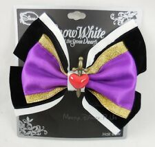 New Disney Snow White Evil Queen Cosplay Hair Bow Pin Clip Costume Dress-Up