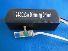 24-30x3w Dimmable LED Driver Power supply AC100~240V Input/70V-100V 550MA+Dimmer