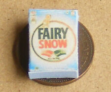 1:12 Fairy Soap Washing Powder Packet Dolls House Miniature Kitchen Accessory Ad