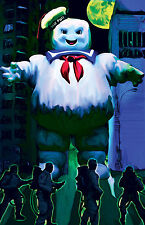 "Ghostbusters ""Stay Puff Rampage"" 11 x 17 High Quality Poster"