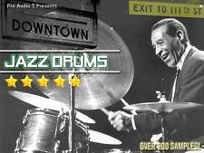 Downtown JAZZ Drum Hits  ZIP 100 DISK - Akai MPC 2000XL FORMAT