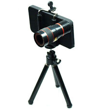 8X Zoom Telescope Camera Lens with Tripod iPhone 5 5s