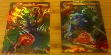 2 FOIL MTG MOUNTAINS ALTERED ART TWILIGHT PRINCESS LINK MIDNA ZELDA COMMANDER-