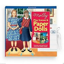 American Girl Molly PLAY SCENES & PAPER DOLL BOOK retired Emily Bennett G2316