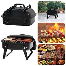 "Portable Small Charcoal Grill 12"" Barbecue Camping Patio Backyard Grill BBQ"