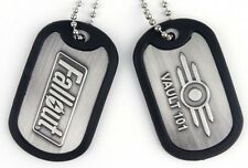 Fallout Vault-Tec Metal Dog Tags | Official Gaming Merchandise