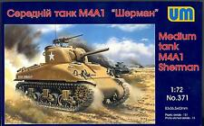 UM-MT Models 1/72 U.S. Army M4A1 SHERMAN TANK