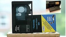 for PANASONIC-Cassette Adapter VHS-C-VW-GTE7E-BATTERY-OPERATED INCLUDED $38.99!!