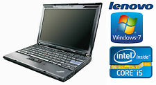Lenovo Thinkpad X201 Intel i5 520M 2,4GHz 4GB 160GB Win7 B-Ware QWERTY