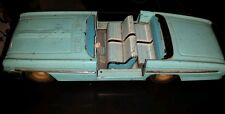 VINTAGE TIN TOY CAR NUMBER MF 786 1950s 60S made in china not perfect sedan blue