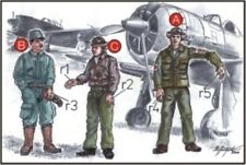 CMK 1:72 Japan army Pilots (2 Fig.) and Mechanic WWII - Resin Figure - #F72042