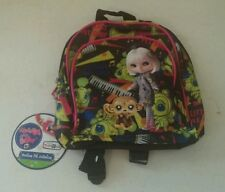 "LITTLEST PET SHOP BLYTHE Monkey Music 10"" Mini BACKPACK Tote and purse"