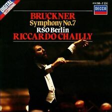 Bruckner: Symphony No. 7  RSO Berlin  Riccardo Chailly  Minty CD  New Case