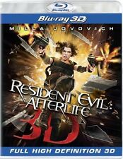 Resident Evil Afterlife 3D Blu Ray Very Good Condition Region ABC 2D