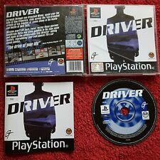 DRIVER ORIGINAL BLACK LABEL SONT PLAYSTATION PSONE PS1 PS2 PAL