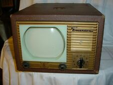 Emerson 600 series television in leatherette case - rare - MINT - REDUCED!!!