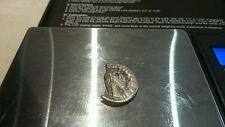 Ultra Raro, Romano plata denario de Aelius Precioso Detalle 2.51g.
