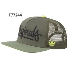 ADIDAS ORIGINALS TRUCKER CAP HAT F77244 Size OSFM (XL)