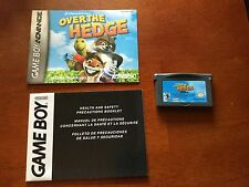 Over the Hedge - Nintendo Game Boy Advance (Game Only) #83961