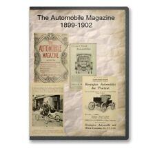The Automobile Magazine 1899-1902 on CD - B541