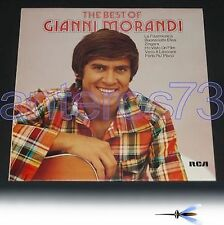 "GIANNI MORANDI ""THE BEST OF"" RARO LP STAMPA TEDESCA"