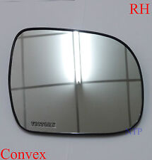 RH RIGHT SIDE WING MIRROR LENS GLASS TOYOTA HILUX 2006 - 2014 WORKMATE KUN26 SR