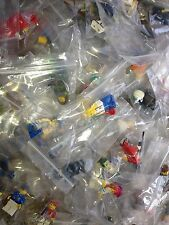 LEGO / 10 Random Mini- Figures / Clean Figs / Read Description / City / People /