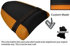 BLACK & ORANGE CUSTOM FITS KAWASAKI ZX10 R NINJA 1000 04-05 REAR SEAT COVER