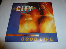 "INNER CITY - Good Life - 1988 UK Black Label 7"" vinyl single"