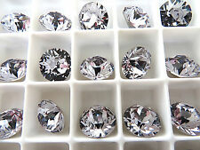 12 Smoky Mauve Foiled Swarovski Crystal Chaton Stone 1088 39ss 8mm