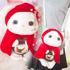 Japanese Lolita Cute Persian Cat Shoulder Bag Portable Phone Plush Doll Toy Gift
