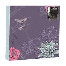 """Album Fotografico Compleanno """"Bird & Fiore"""" Design - 200 Foto 4 x 6"""