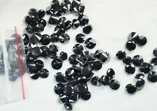 $1450 - 100 piece of 0.02 CARAT OPAQUE BLACK NATURAL ROUND DIAMOND FOR JEWEL USE