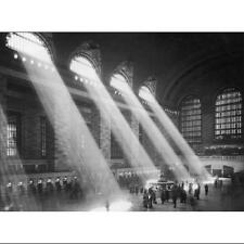 NEW YORK CITY - GRAND CENTRAL STATION - ART PRINT 32x24 B/W Photo Poster