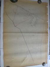 ROMA Mappa Catastale n. 954 CASALE TORRE SPACCATA CASILINA CENTOCELLE 1943 c.