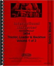 International Harvester 3414 Industrial Tractor Service Manual