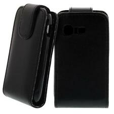 For Samsung Galaxy Pocket GT-S5300 Phone Flip Case Cover Case Protection Black