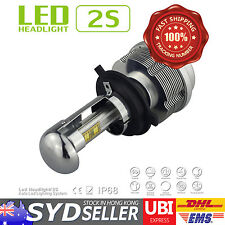 2x H4 HB2 H4-3 Hi Low Beam 7200LM 60W 3000K CREE ETI LED CAR FOG DRL HEADLIGHT