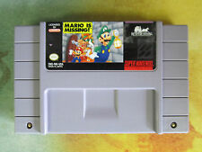 Mario is Missing! - Super Nintendo Entertainment System SNES - Free Shipping!