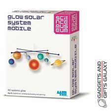 SCIENCE MUSEUM GLOW IN THE DARK SOLAR SYSTEM KIT explore toy gift childs kids