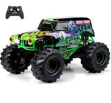 New Bright 1:10 RC Radio Control 9.6V Monster Jam Grave Digger Truck Toy Black