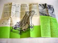 """Massey Harris #8 Hay Loader 1920's-1930's Brochure 12""""x18""""                     5"""