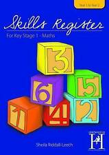 The Skills Register for KS1: Maths/Year 1 to Year 2: Assessment and Record of Ch