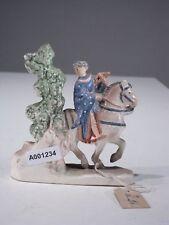 +# A001234 Goebel Archivmuster, Yel 2, Pferd mit Reiter und Bogen und Baum